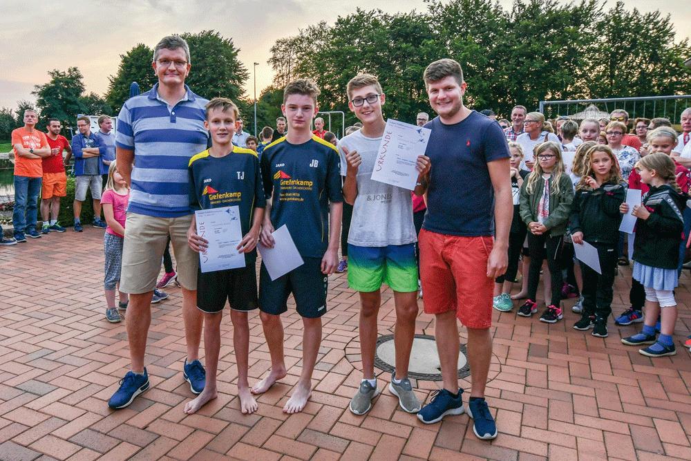 Gruppentriathlon-Voerden-Sieger-u16-20
